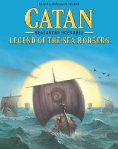 Catan : Seafarers Scenario - Legend of the Sea Robbers (Special Offer)